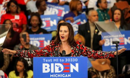 Michigan Gov. Whitmer Confirms Biden Is Considering Her for Veep