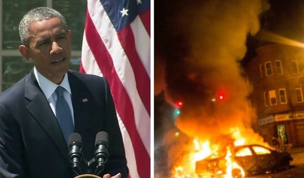 Remember When President Obama Declared Baltimore Rioters Criminals and THUGS?