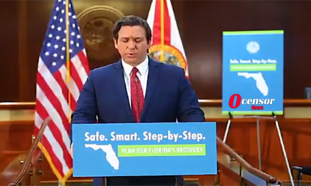 Gov. Ron DeSantis Shames Media, Calls Them Out For Treasonous Lies On Coronavirus