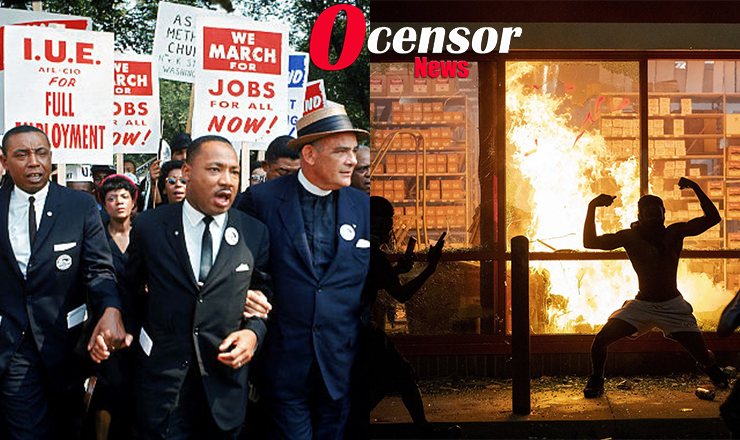 Protests That Changed The World Under MLK And Now