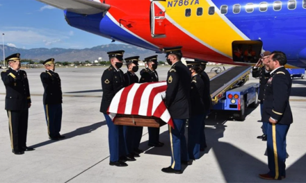 New Mexico Is Open For Restaurants, Protests — But Not For This Lifelong Army Family To Bury Master Sgt. Velasquez