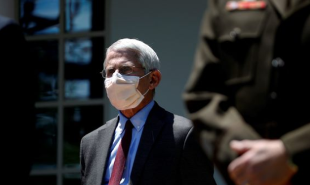 Fauci Admits Why Americans Were Initially Misled About Wearing Masks