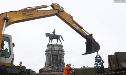 Removal of Lee Statue Halted by Lawsuit