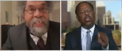 Cornel West Blows Up At Another Black Speaker Who Will Not Support Defunding Police