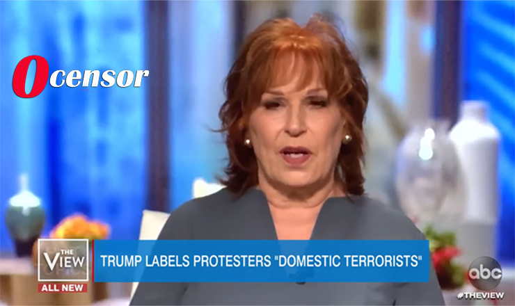 Joy Behar Calls Trump Domestic Terrorist For Demanding Protesters Be Stopped In Seattle