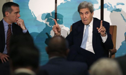 John Kerry Warns of Revolution in November if Trump Wins While He Lays the Foundation for It