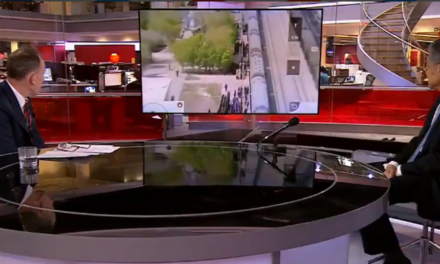 BBC Host Asks Chinese Ambassador To Explain Footage Of Prisoners Being Herded Onto Trains