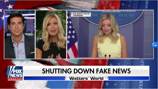 WH's McEnany on Being Called a 'Karen' by Chicago Mayor Lightfoot: 'Lightweight'