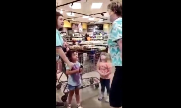 Store Mask Bully Unleashes on Children, Tells Them 'I Hope You All Die'