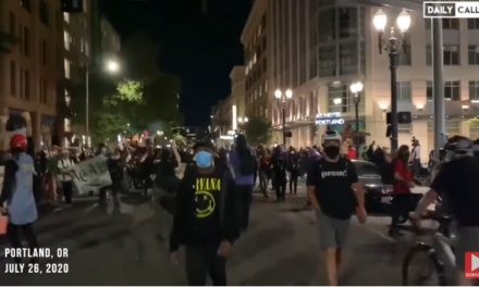 Media Downplays Ongoing Violence In Portland, Claims 'Right-Wing' Outlets Are Playing Up The Unrest