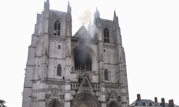 French Police Suspect Criminal Motive In Nantes Cathedral Fire