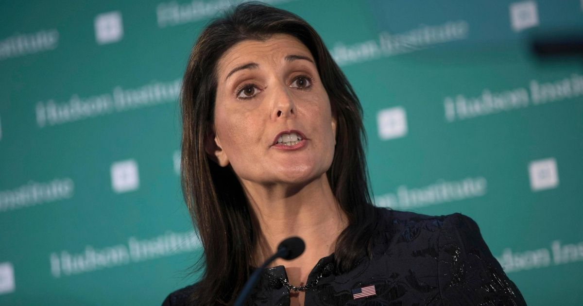 Haley: Biden Would Reverse All the Gains Made by Trump in Israel and the Middle East
