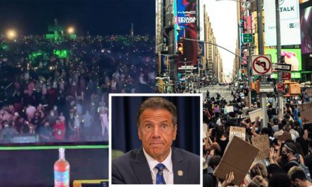 These Two Images Perfectly Illustrate Andrew Cuomo Flagrant COVID-19 Hypocrisy