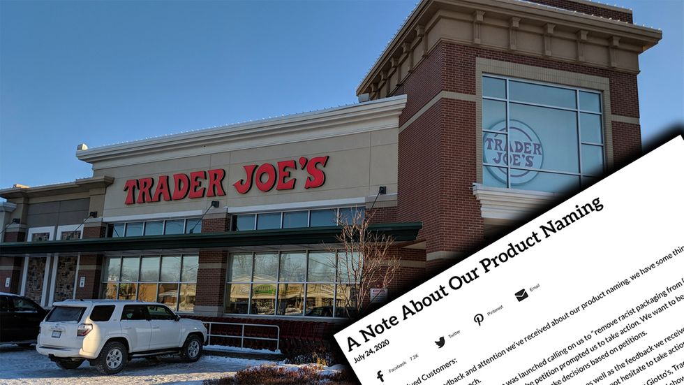Trader Joe's Tells Leftists Where to Stick Their Cancel Culture. More Brands Need to Take Notes …