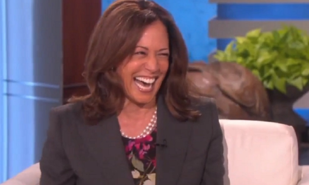 Kamala Harris Once Laughed Hysterically After Sinister Joke About Killing Trump
