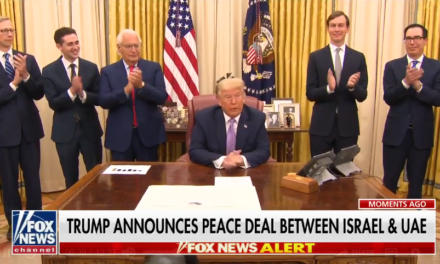 BREAKING: Trump announces 'Historic Peace Agreement' between Israel, UAE