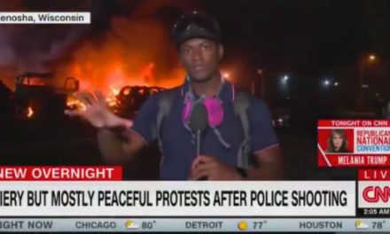 CNN Mocked for Labeling Kenosha 'Mostly Peaceful' While Their Own Footage Showed the Opposite