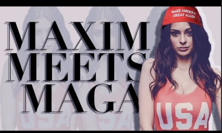 Maxim Model, Elizabeth Pipko, Opens Up About 'Finding Her Place' After Coming Out As A Trump Supporter