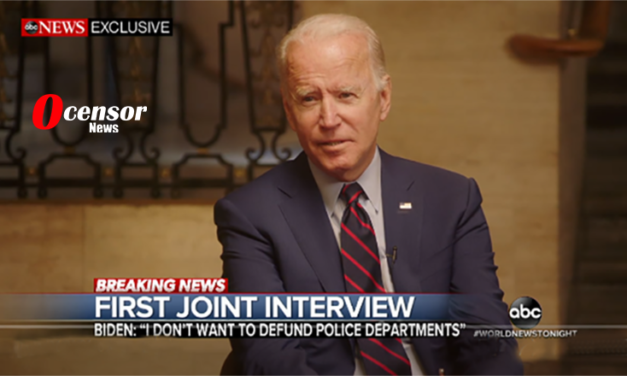 "Biden -""The Democrats nor I Want To Defund The Police, That Is Trump!"""