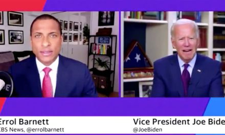 Joe Biden Just Asked a Black Reporter if He Does Cocaine. No, Really.