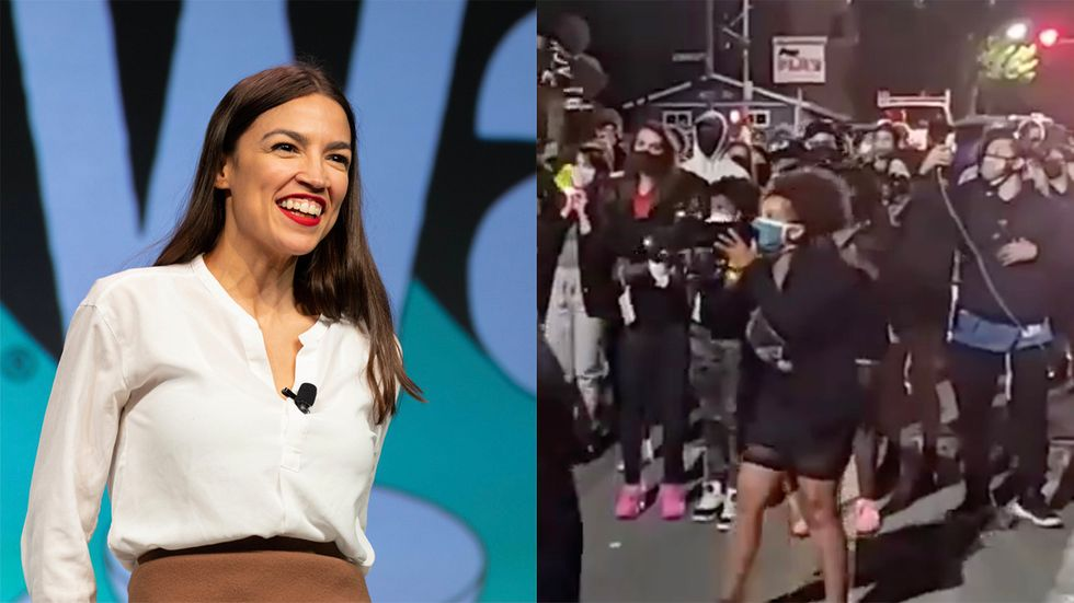 AOC Refuses to Denounce BLM Demands That White People Give Up Their Homes