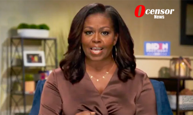 Michelle Obama Speaks Like a Politician, Open Mouth, Nothing But Lies come Out.