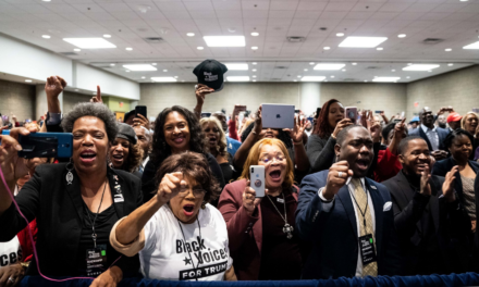 REPORT: Trump Surging With Black And Hispanic Voters In Key States