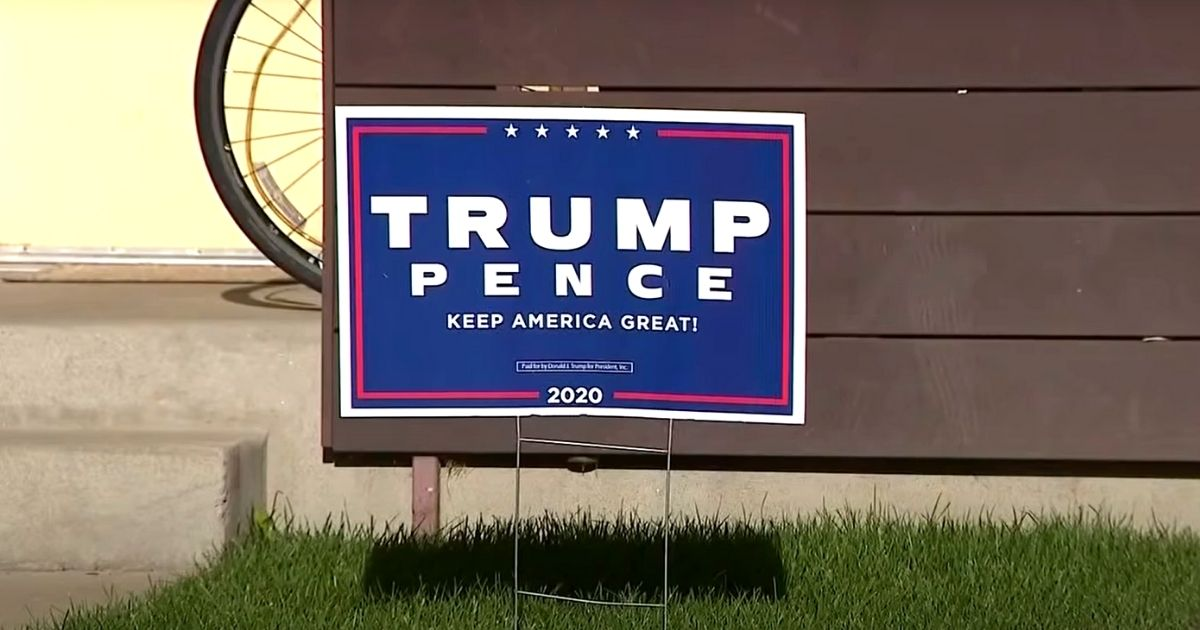 Woman Viciously Assaults Child Over His Trump Sign, Police Say