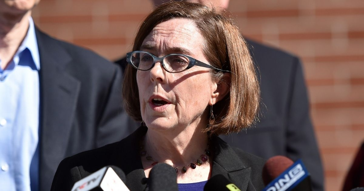 Oregon Governor Declares State of Emergency in Portland Only After Conservatives Plan To Rally