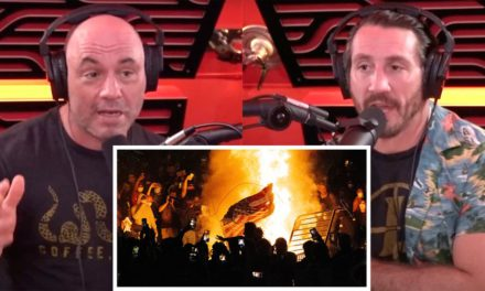 "Joe Rogan and Tim Kennedy DISMANTLE Protesters: ""Do You Have Any Idea How G*dd*mn Crazy This is?"""