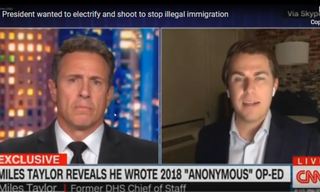 Miles Taylor Tells Chris Cuomo Trump Wanted To 'Gas, Electrify And Shoot' Migrants