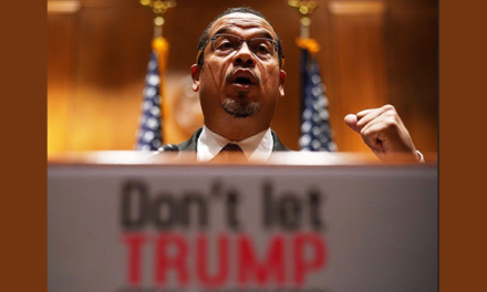 Keith Ellison Wields Power to Restrict Freedom of Assembly of Political Opponents at Minnesota Trump Rally