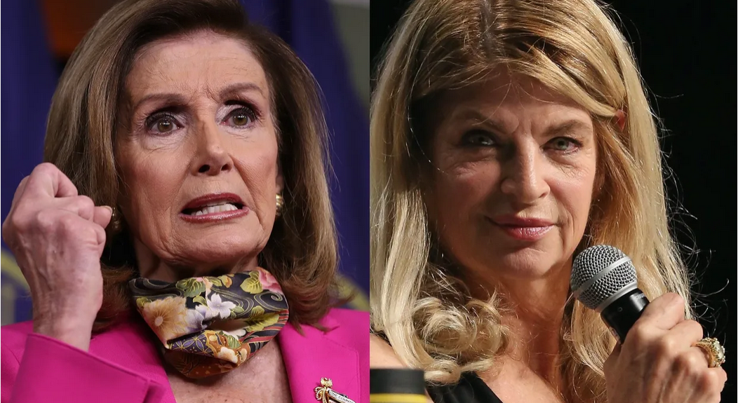 Kirstie Alley rips into 'EVIL' Nancy Pelosi over 25th Amendment scheme to unseat Trump
