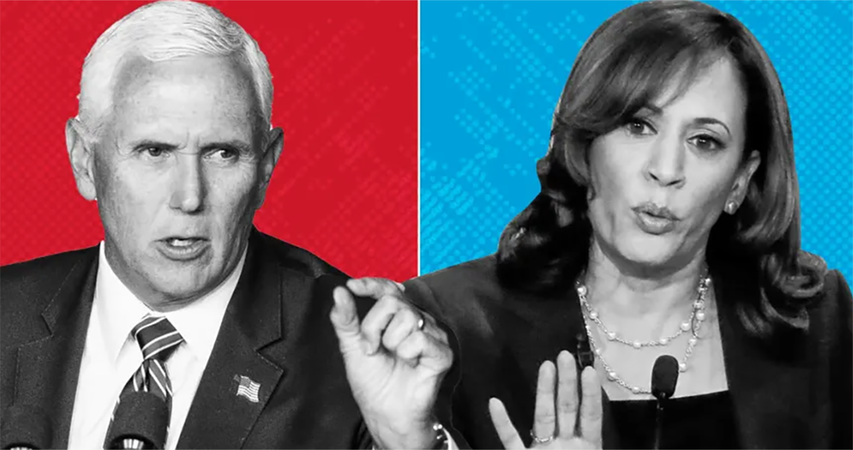 Poll: Voters Believe Pence Is More Prepared Than Harris To Be President