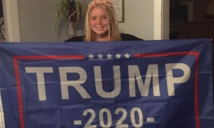 High School Student Says She Was Kicked Out of Zoom Class for Having a Trump Flag