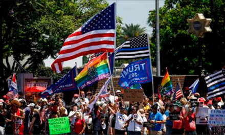 Beverly Hills Goes MAGA as Thousands of Trump Supporters Rally