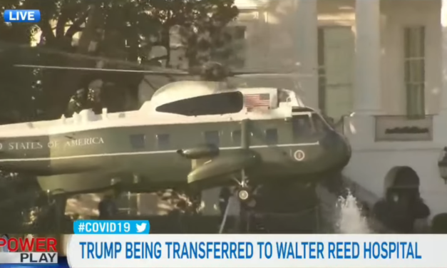 Trump taken to Walter Reed to Undergo Further Treatment For COVID