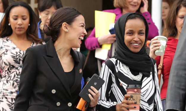 AOC, Omar Team Up with Vlogger Who Said 'America Deserved 9/11' in Campaign Event