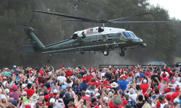 Journalist Mocks Marine One Maneuvers, Then USMC Joins the Conversation and Shuts Him Down