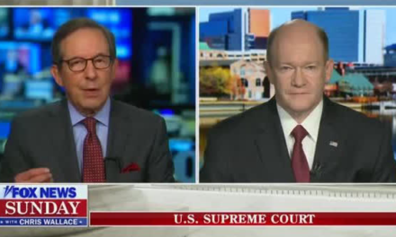 'You're Not Being Straight With Me': Chris Wallace Challenges Chris Coons For Changing The Definition Of Court Packing