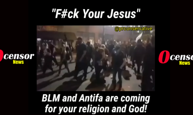 "Black Lives Matter Up Attacks Against Churches, even Jesus with Chant: ""F#ck Your Jesus!"""