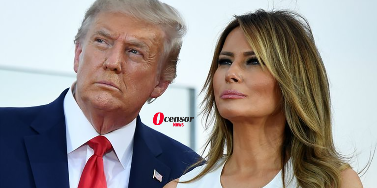 BREAKING NEWS: Donald And Melania Trump Announce They've Tested Positive for COVID-19