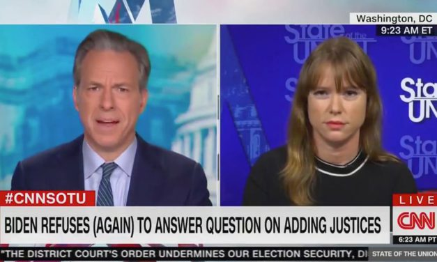 Jake Tapper Embarrasses the Biden Campaign Over Supreme Court, Not Knowing What 'Constitutional' Means