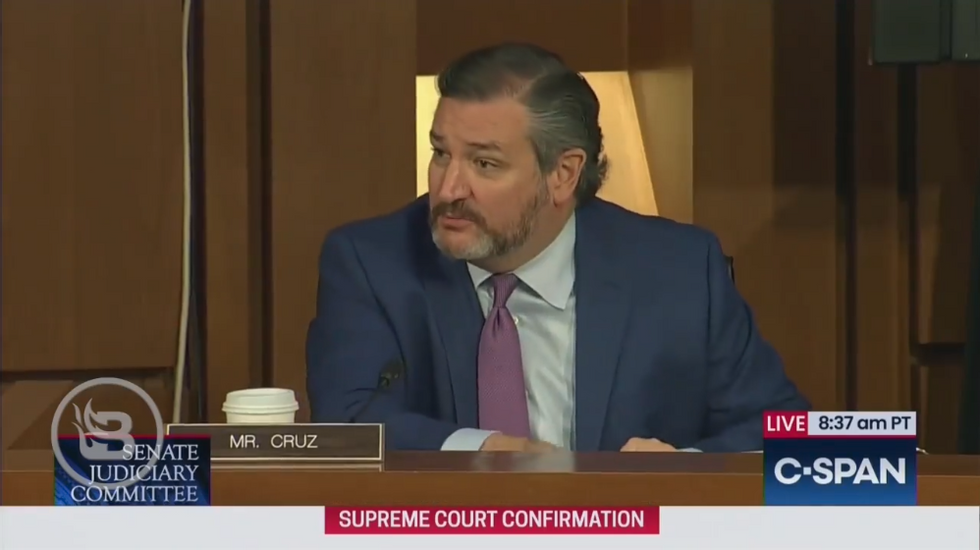 Ted Cruz Calls Out Democrats for Leaving ACB Hearing; Durbin Has a Fit but Cruz Smacks Him Down