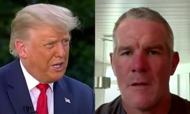 Trump, Brett Favre Speak for Many Americans: Keep Politics Out of Sports!
