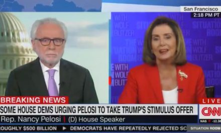 Nancy Pelosi Melts Down on CNN, Accuses Wolf Blitzer of Being a 'Republican Apologist'