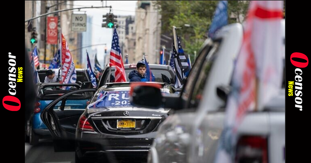 'Jews for Trump' rolls through New York City; Family attacked, Young Children Pepper Sprayed in Car, punches Thrown