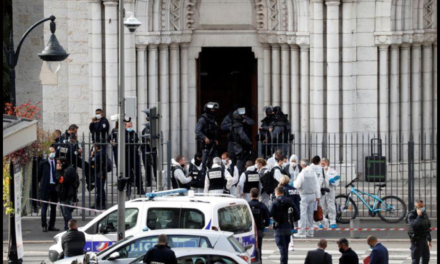 Woman decapitated as knife-wielding Islamic terrorist kills three in an attack in France