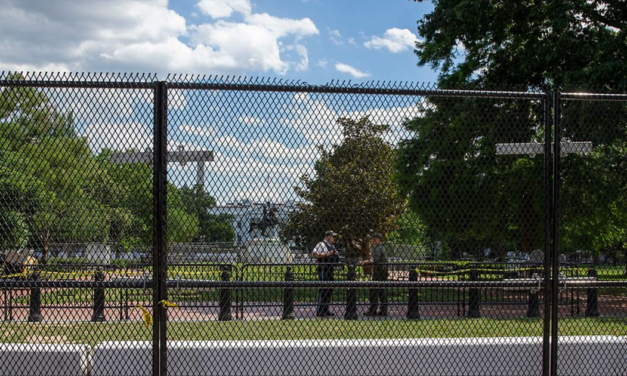 'Non-Scalable' Fence To Be Built Around White House Amid Election Fears