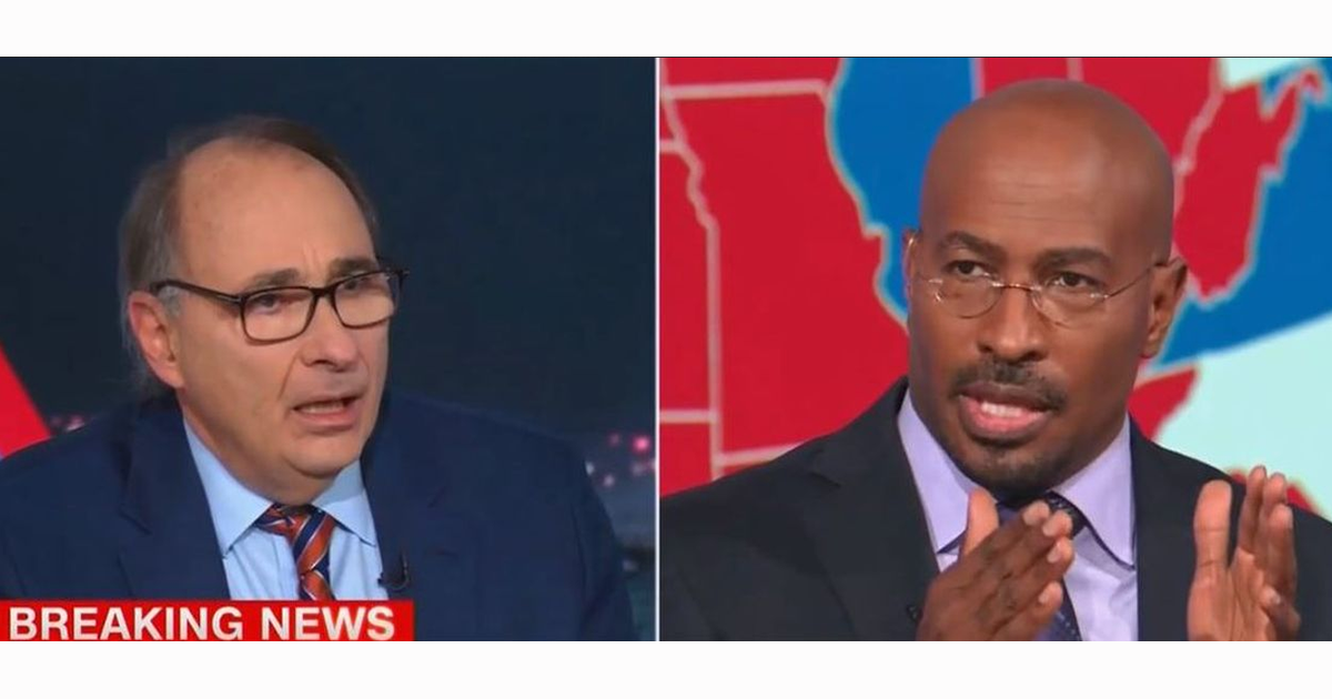 Van Jones, David Axelrod Suggests Trump Is A Racist For Questioning Vote Counting In Philadelphia, Detroit